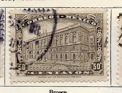 Mexico 1923 Early Issue Fine Used 50c. 006332