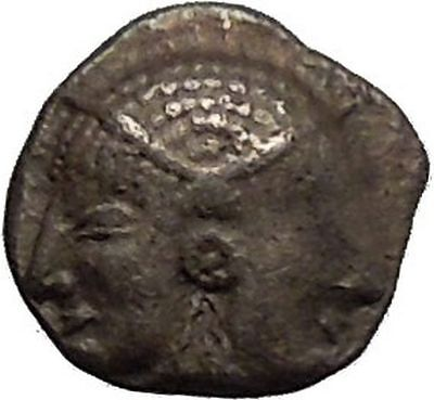 LAMPSAKOS in MYSIA 500BC Archaic Ancient Silver Greek Coin Athena i52218