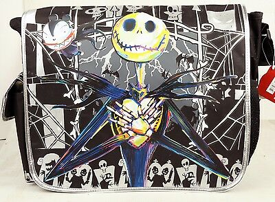 Large Messenger Bag Disney Tim Burton's the Nightmare Before Christmas For Kids