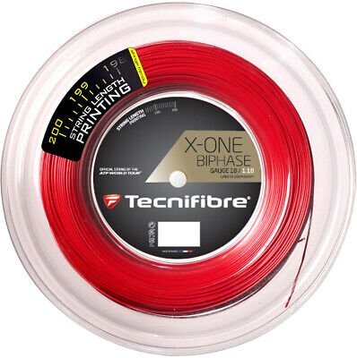 Tecnifibre X-One Biphase 18 Squash String 660 Foot Reel