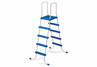 Intex Steel Frame Above Ground Swimming Pool Ladder for 52 Inch Pools | 28063E