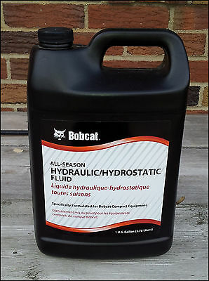 Bobcat Hydraulic Hydrostatic Fluid Oil 1 Gallon - 6904026 All Season Skid Steer