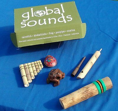 5 Great World Music Instruments Gift Set