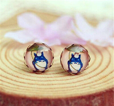 My Neighbor Totoro Stud Earrings In Gift Bag Japanese Anime Cartoon