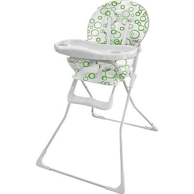 BabyStart Folding Highchair  With Removable Washable Seat Cover