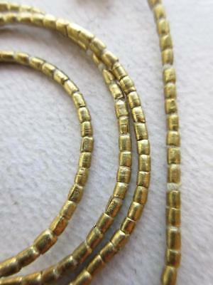 African Brass Spacer Beads [62992]