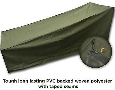 Deluxe Heavy Duty Sun Lounger Bed Waterproof Cover Garden Furniture Protection