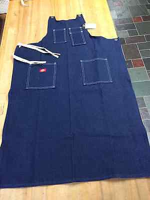 Toolmakers Apron, Toolmaker's Blue Denim Shop Apron AC20NB