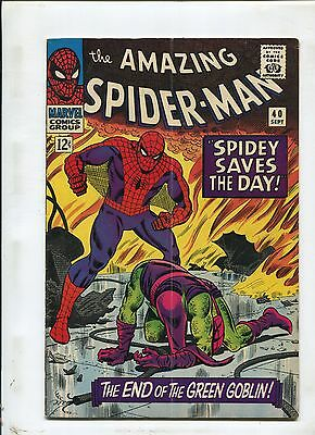 Amazing Spider-Man #40 (4.0) 1St Origin Of Green Goblin And Cover! 1966