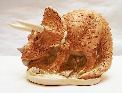 Bone Head (Triceratops) Harmony Kingdom Small Treasure Jest