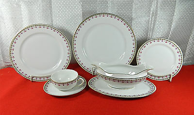 "54-Pieces (Or Less) Of Vintage Heinrich/h&c Pattern ""9703"" Fine Bavarian China"