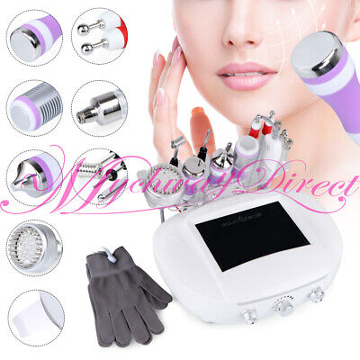 6in1 Diamond Microdermabrasion Machine Hot Cold Hammer Anti-Wrinkle Remoe Acnes