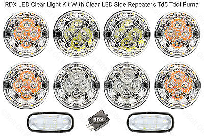 Defender 1998 to 2016 S Td5//Tdci RDX LED XS Style 10 Lamps Side Repeater NumLmp