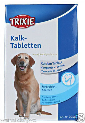 Calcium Tablets 50g (50 approx) nursing Dog Puppies ideal for whelping nursing