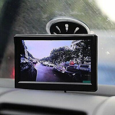 5Inch TFT LCD Color Car Rear View Monitor For Reverse Backup Camera DVD VCR