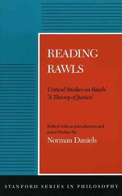 Reading Rawls: Critical Studies on Rawls' 'A Theory of Justice' 9780804715034