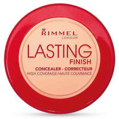 RIMMEL LONDON LASTING FINISH CREAM CONCEALER CHOOSE SHADE 6g BRAND NEW FREE P&P