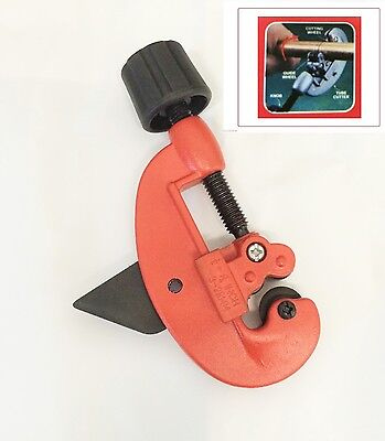 """Adjustable Tubing Pipe Cutter Fold Out Reamer 1/8"""" to 1-1/8"""""""