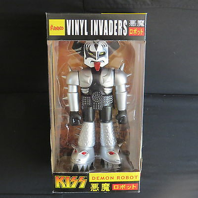 "Kiss - The Demon 11"" Vinyl Invaders Robot-Brand New"