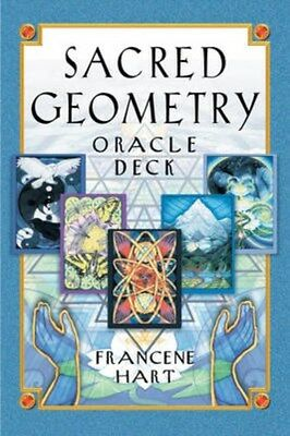 Sacred Geometry Oracle Deck 9781879181731 by Francene Hart, Cards, BRAND NEW