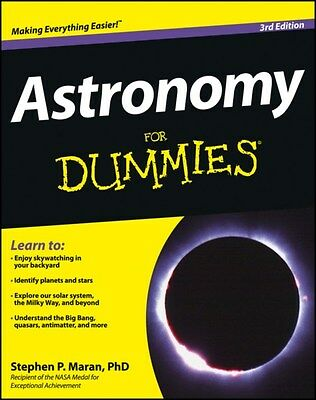 Astronomy For Dummies 9781118376973 by Stephen P. Maran, Paperback, BRAND NEW