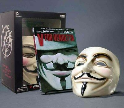V for Vendetta Book and Mask Set 9781401238582 by Alan Moore, Paperback, NEW