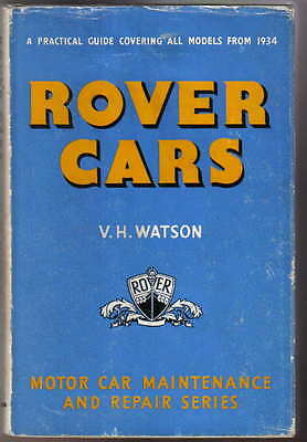 Rover Cars from 1934 10 12 14 16 20 P3 60 75 P4 90 105 Pearson Owners Handbook