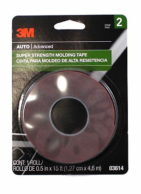 "3M 03614 Scotch Mount Molding Tape, 1/2"" x 15'"
