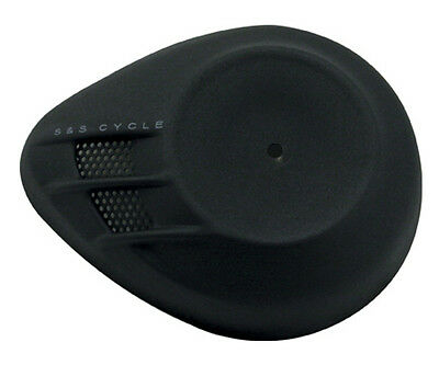 S&S Cycle Airstream Air Cleaner Cover Black Wrinkle For Harley-Davidson