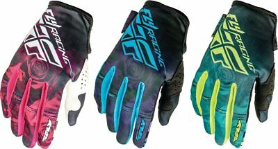Fly Racing Womens Kinetic Textile Gloves