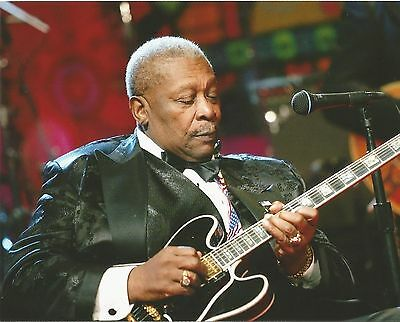 Bb King Music Star Unsigned 8X10 Photo