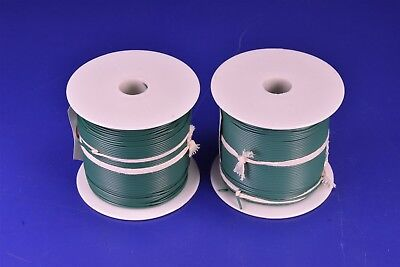 1,000' Mil-Spec 24 Awg Green Wire Single Conductor Copper Tin MIL-W-76