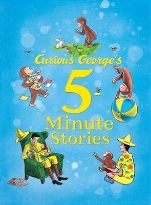 Curious George's 5-minute Stories 9780544107939 by H. A. Rey, Hardback, NEW