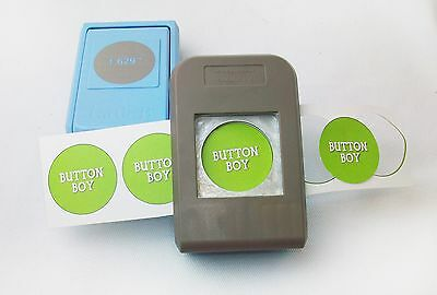 """1.25"""" Button Boy Double Level Hand Held Punch - cuts circles 1.629"""""""