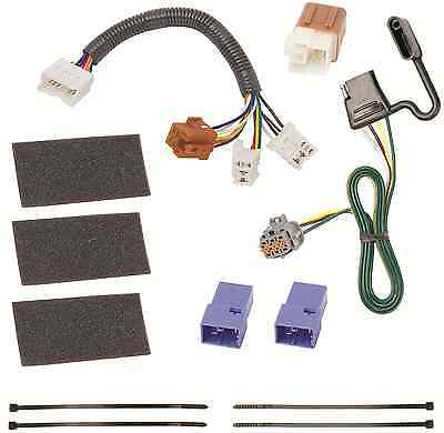 trailer wiring harness kit for 05-19 nissan frontier 05-12 pathfinder t-