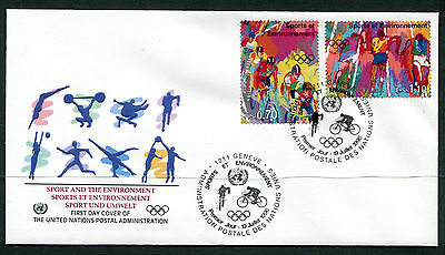 United Nations Geneva 1996 Olympic Games FDC