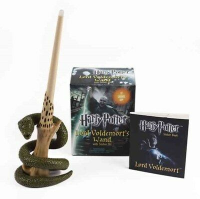 Harry Potter Voldemort's Wand with Sticker Kit: Lights Up! 9780762452415, Press