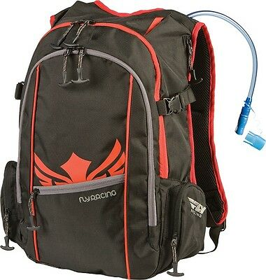 Fly Racing Snowmobile Back Country Back Pack W/ 70 oz. Hydration System