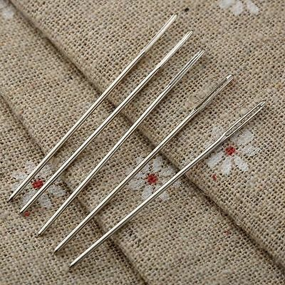 5pcs Darning Needle Blunt Large Eye Embroidery Tapestry Needle Sewing Hand Craft
