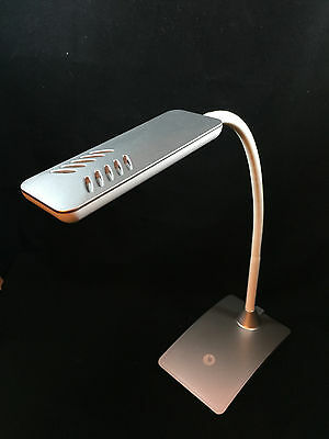 7W Dimmable Touch Sensor Adjustable 12 LED Light Desk Table Reading Book Lamp