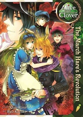 Alice in the Country of Clover: The March Hare's Revolution 9781626921245, NEW