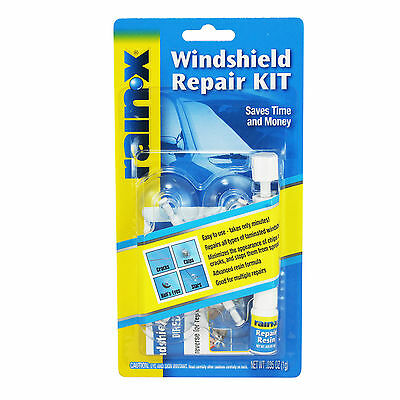 Rain X Windscreen Window Glass DIY Resin Repair Kit For Cracks Chips Easy to Use