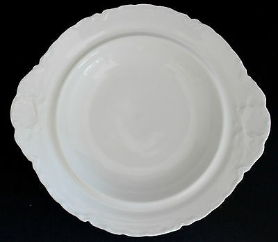 HAVILAND RANSON Covered Butter Dish (BASE only) Schleiger1 White China FRANCE