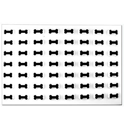Production Cookie Cutting Sheet, Dog Bone 1-5/8""