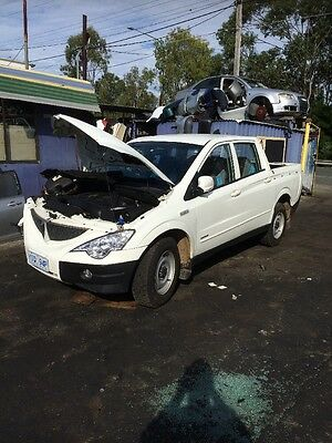 2008 Ssanyong Actyon 4Wd Diesel Manual Gearbox & Transfer - 3 Mth Warranty -