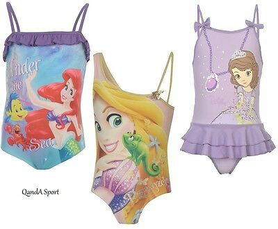 Licensed Character Young Girls Swimsuit Swimming Costume Bathers