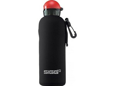 Sigg Neoprene Pouch (Black 0.75L Bottle Not Included) **not For Widemouth**