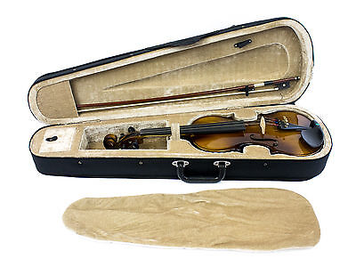 Full Size Student Solid Spruce Violin Outfit, 4/4, w/ Bow & Case