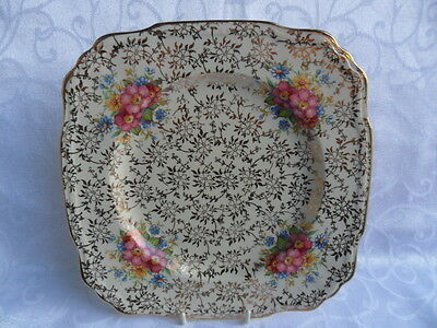 Alfred Meakin (J. Fryer) Chintz Floral Design Plate