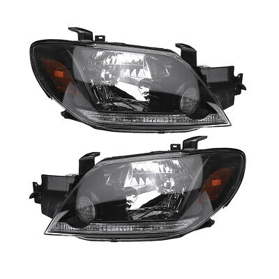 MITSUBISHI OUTLANDER 2003-2005 Front Head lamps Headlights LEFT+ RIGHT SET